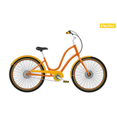 photo-realistic bicycle vector image
