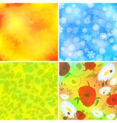 seasonal backgrounds vector image