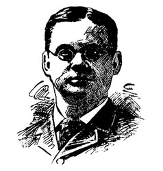 william rainey harper vintage vector image