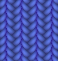 Woven braid seamless pattern vector