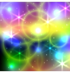 abstract bright blurred background with vector image vector image