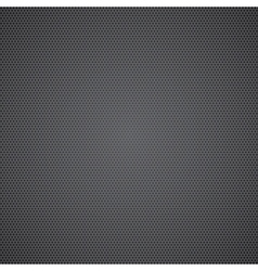 Black dotted metal sheet vector image vector image