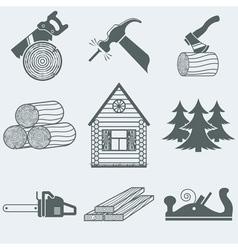 Woodworking vector image vector image