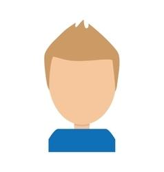 man human avatar isolated icon vector image
