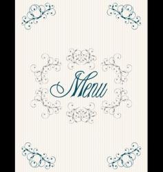 menu12 vector image