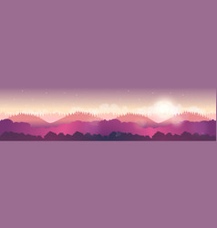 nature landscape for your vector image