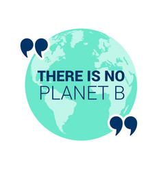 save planet earth poster design template eps10 vector image