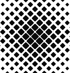 Seamless monochrome rounded square pattern vector