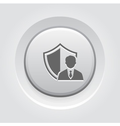 Security agency icon vector