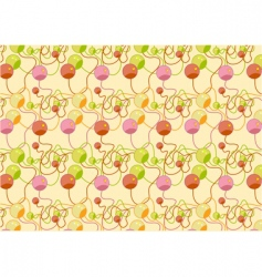 beads pattern vector image vector image