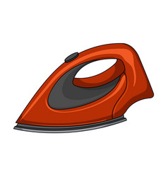 iron for ironing dry cleaning single icon in vector image