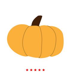 pumpkin icon different color vector image