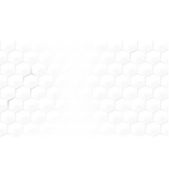 abstract light hexagon honeycomb background vector image