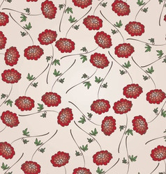 Beautiful vintage floral seamless pattern vector image