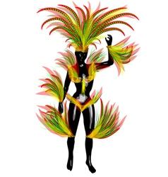 carnival brazil vector image