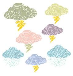 CloudThunderArt vector image