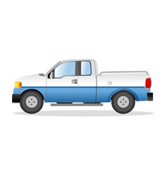 Graphic of a pick up truck vector