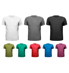 Men t-shirts design template vector