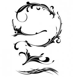 Set of design elements vector