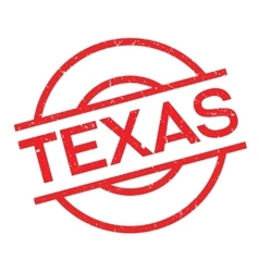 Texas rubber stamp vector image
