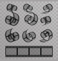 video film tape videotape design vector image