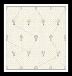 Seamless pattern with lamps vector image