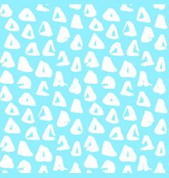 trendy triangle seamless pattern vector image vector image