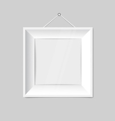 modern white picture frames. White Modern Frames On The Wall Vector Image Picture