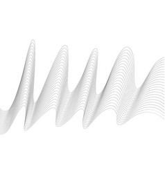 abstract wave element for design digital vector image