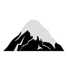 Fuji mount japanese icon vector