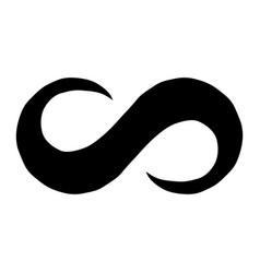 Infinity loop symbol vector