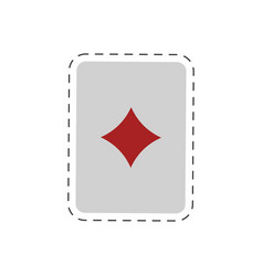 magic card trick icon vector image