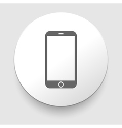 Mobile phone icon vector image