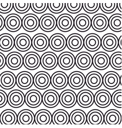 pattern background with mandalas vector image