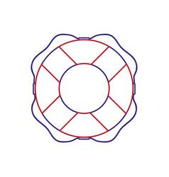 safe float design vector image