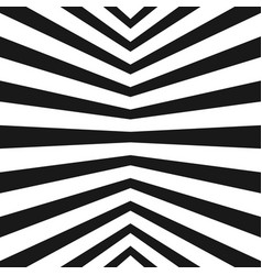 stripes pattern black and white geometric texture vector image