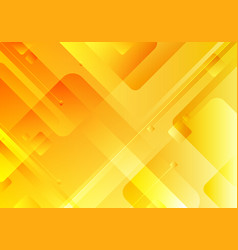 abstract technology concept yellow geometric vector image