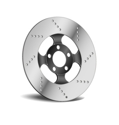 Disk Break vector image