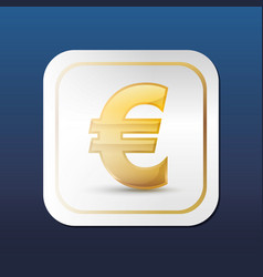 Euro money curreny vector