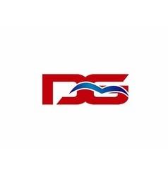 DG letter logo vector image vector image