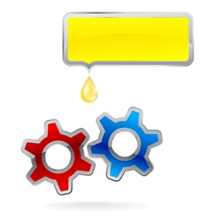 Gear Cog Logo vector image