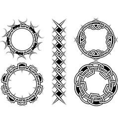 Celtic button vector