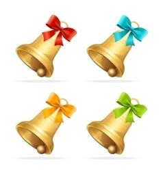 Christmass Bell Set vector
