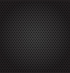 Dark metal cell background vector image