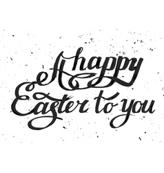 Easter Lettering 13 A-09 vector image