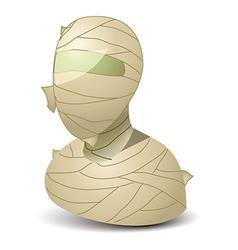 Mummy icon vector