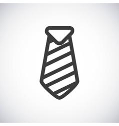 Necktie silhouette icon design graphic vector