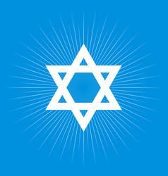 star of david vector image
