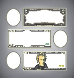 Stylized money vector