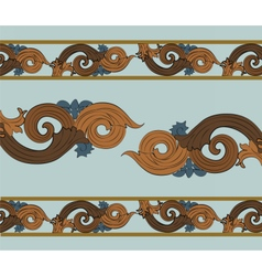 Classic royal style ornament vector